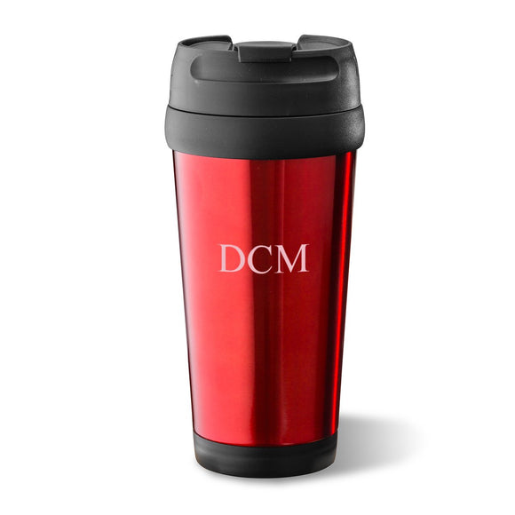 On-The-Go Travel Tumbler In Red