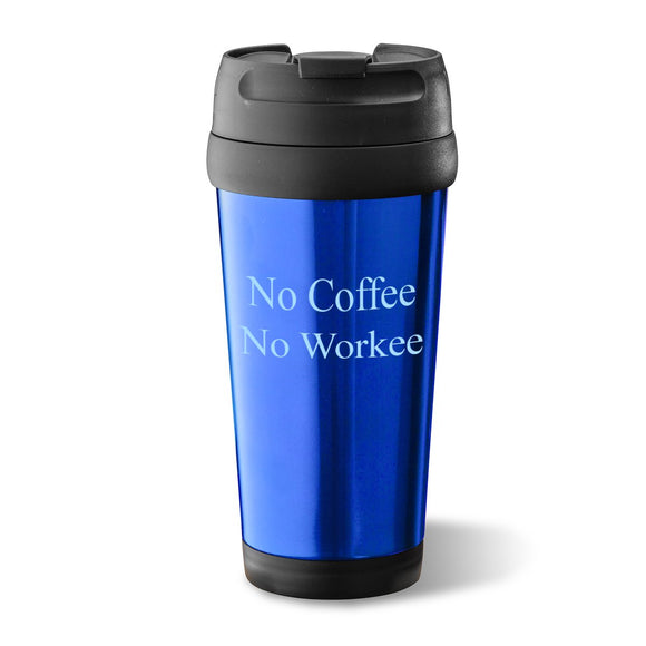 On-The-Go Travel Tumbler In Blue