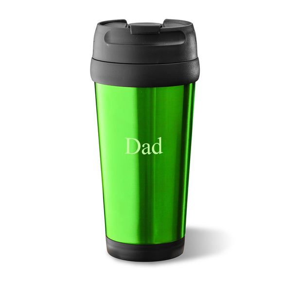 On-The-Go Travel Tumbler In Green