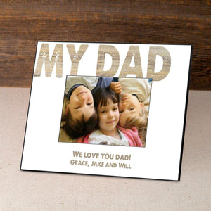 "Personalized ""My Dad"" Frame"