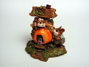 Wee Forest Folk Peter Pumpkin Eater