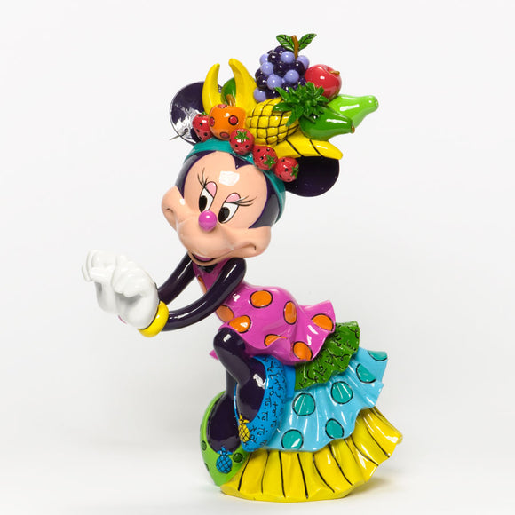 ROMERO BRITTO DISNEY MINNIE MOUSE SAMBA FIGURINE