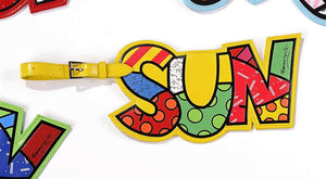 ROMERO BRITTO SUN LUGGAGE/BACKPACK ID TAG