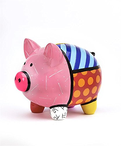 Romero Britto Piggy