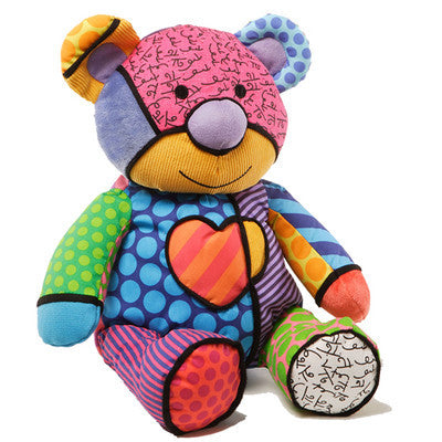Romero Britto Plush Tallulah Teddy Bear