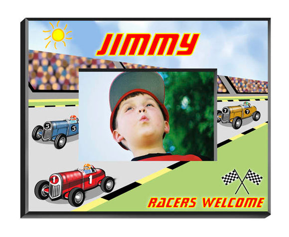Personalized Race Car Frame