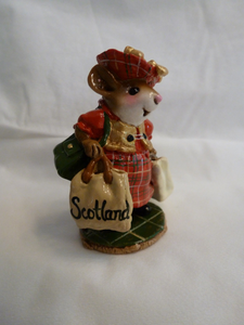 Wee Forest Folk Special Color Scottish Lass