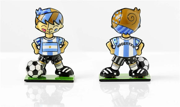 BRITTO WORLD CUP SOCCER PLAYER MINI- ARGENTINA