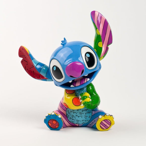 ROMERO BRITTO DISNEY STITCH FIGURINE