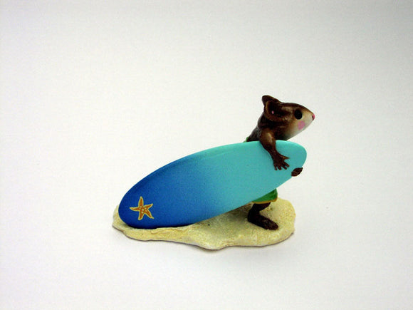Wee Forest Folk Special Color Surf's Up With Starfish Board