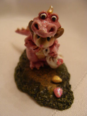 Wee Forest Folk Susan G Komen Charity Pink Dragon