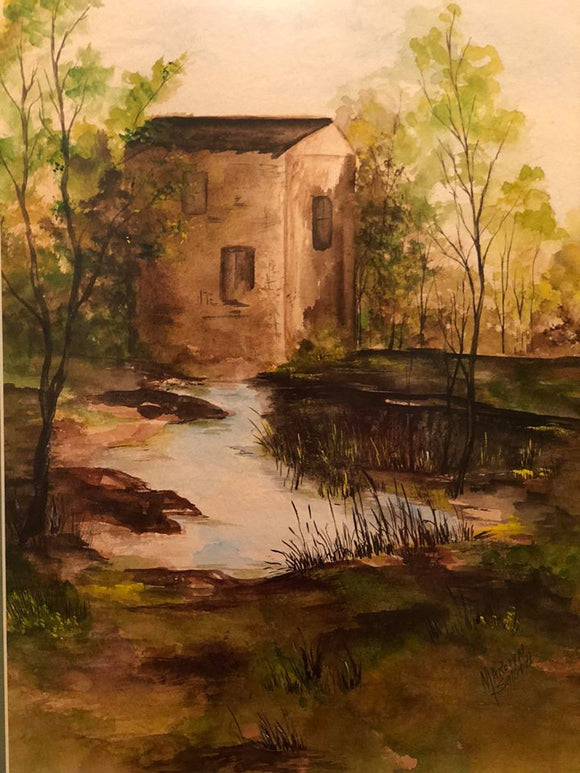 "Limited Edition Numbered Painting Print ""The Old Mill"""