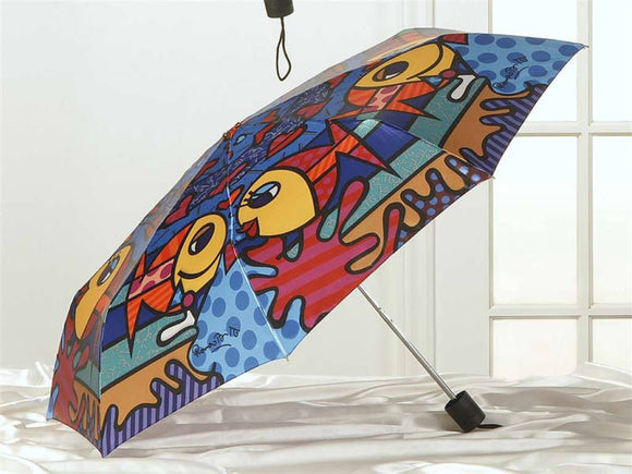 ROMERO BRITTO TRAVEL UMBRELLA-