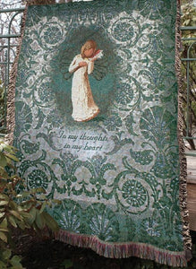 WILLOW TREE- THINKING OF YOU TAPESTRY THROW
