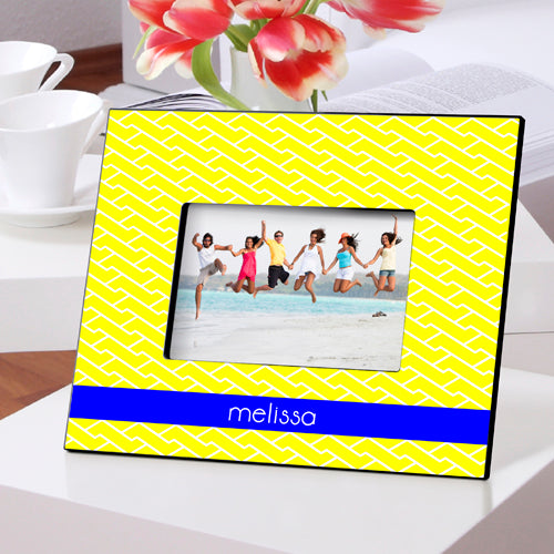 Personalized Yellow Brick Road Picture Frame