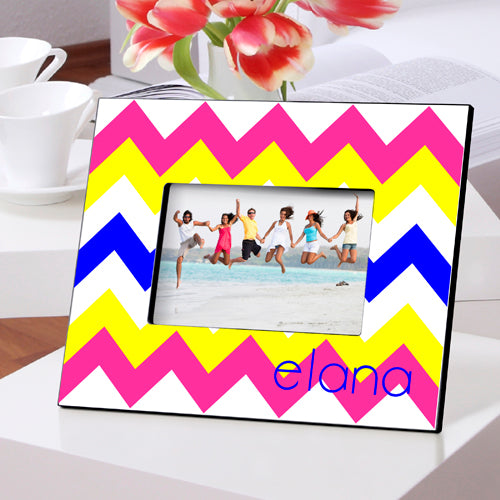 Personalized Zig Zag Picture Frame