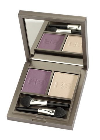 RS Make up - 2mat Shadow - Plum & Almond 740