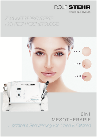 RS Beauty Instruments - 2in1 Mesotherapy - Poster A1