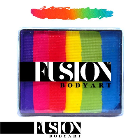 Fusion Body Art Rainbow Cake UNICORN SPARKS 50gm