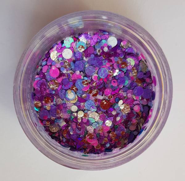 Essential Glitter Balm PURPLE PETALS