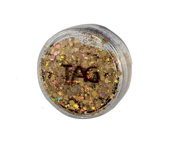 Chunky Glitter GOLD by TAG BODY ART 10gm