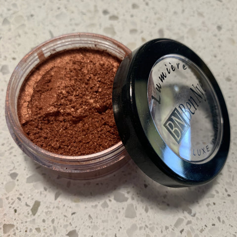 ben nye lumiere luxe powders INDIAN COPPER