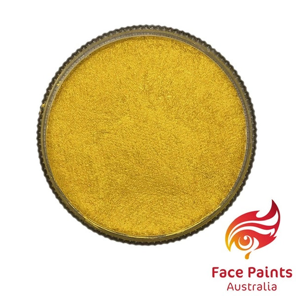 Face Paints Australia Metallix YELLOW