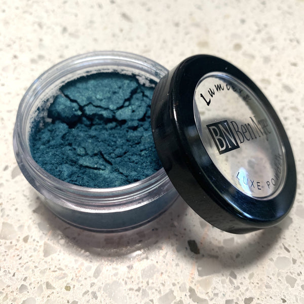 ben nye lumiere luxe powders PEACOCK