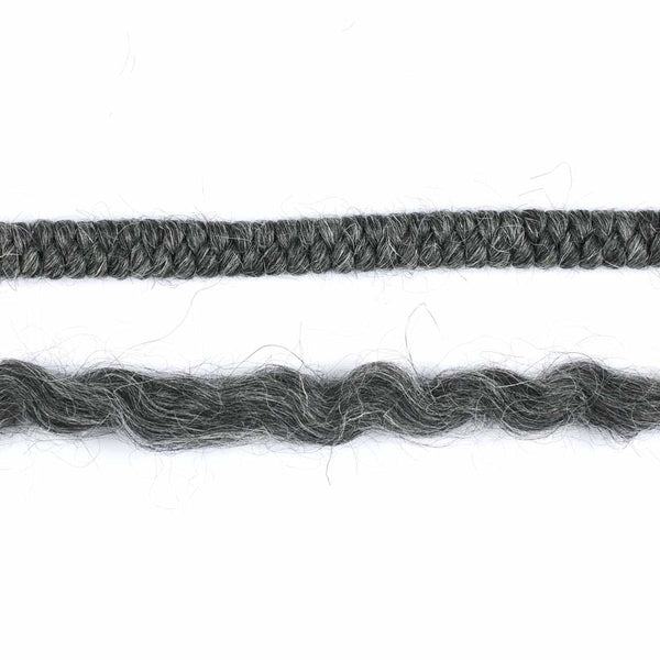 Ben Nye Wool DARK GREY Crepe Hair 1 yd