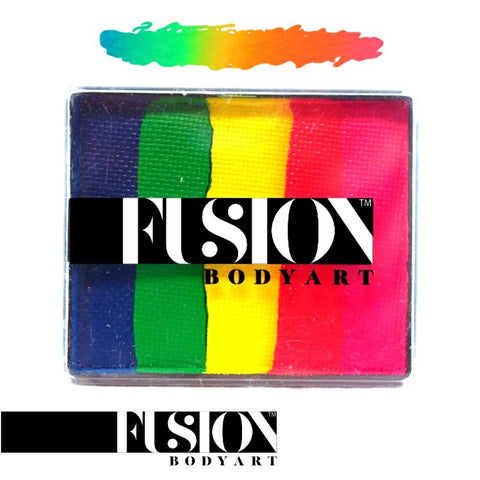 Fusion Body Art Rainbow Cake NEON RAINBOW 50gm