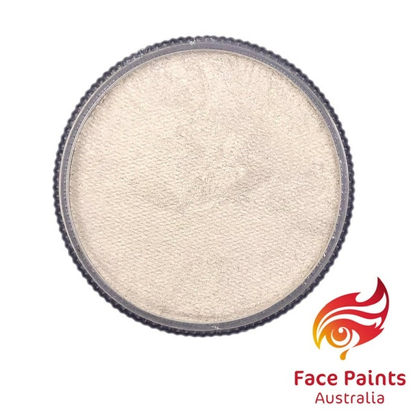 Face Paints Australia Metallix WHITE