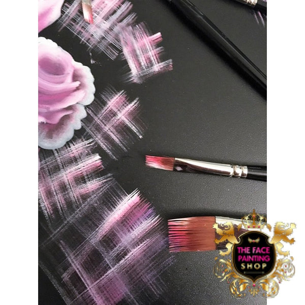 The Face Painting Shop RAKE BRUSH 1/2 Brush