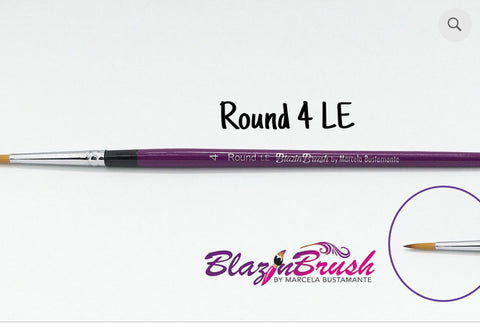 ROUND 4 LE (limited edition) Blazin Brush by Marcela Bustamante