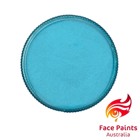 Face Paints Australia Metallix LIGHT BLUE