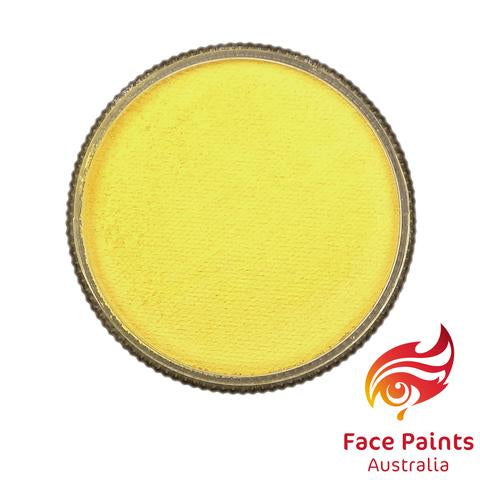 Face Paints Australia Essential LEMON CHIFFON