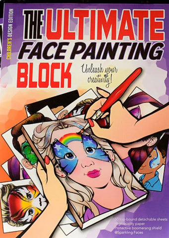Sparkling Faces Ultimate Face Painting Block CHILDREN'S Edition