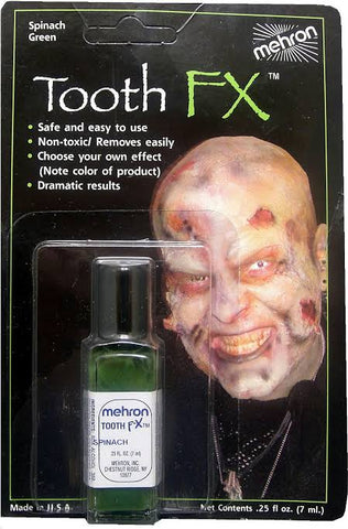 Mehron Tooth FX SPINACH GREEN 7ml