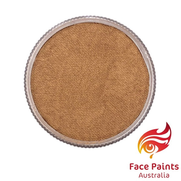 Face Paints Australia Metallix GOLDEN BRONZE
