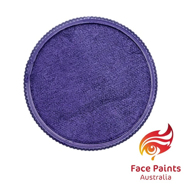 Face Paints Australia Metallix PURPLE