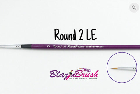 ROUND 2 LE (limited edition) Blazin Brush by Marcela Bustamante