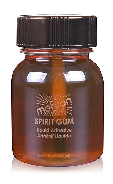 Mehron Spirit Gum with brush 30ml