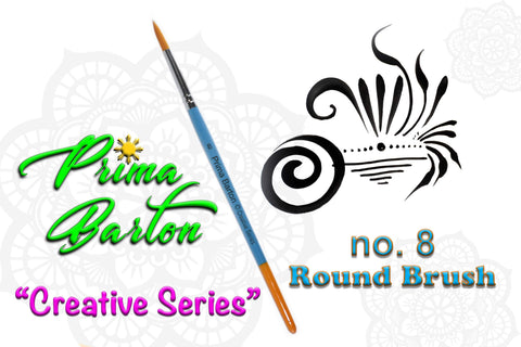 Prima Barton ROUND #8 brush