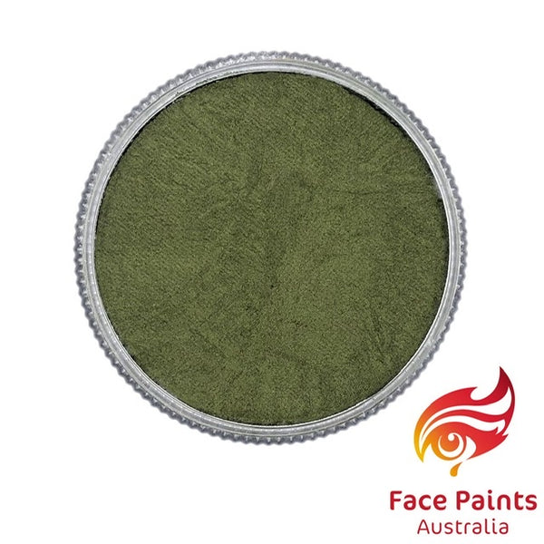 Face Paints Australia Metallix OLIVE