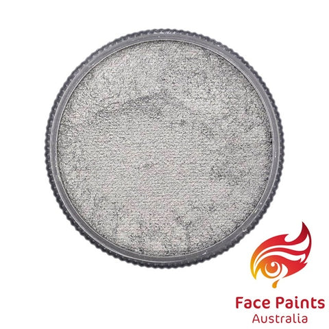 Face Paints Australia Metallix SILVER