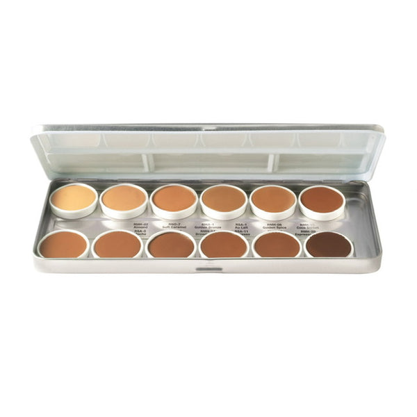 "Ben Nye ""OLIVE BROWN"" Series Matte HD Foundation Palette"