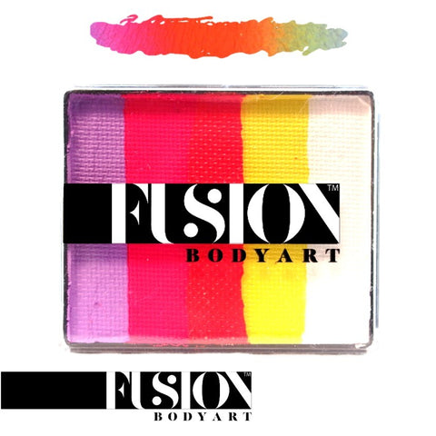 Fusion Body Art Rainbow Cake CARIBBEAN SUNSET 50gm