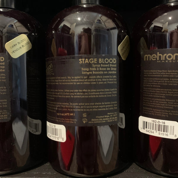 Mehron Stage Blood Dark Venous 472ml
