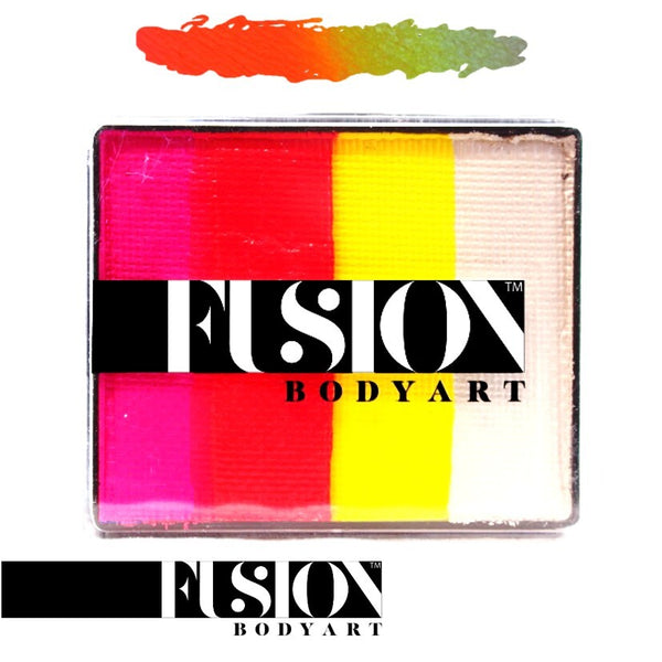 Fusion Body Art Rainbow Cake TROPICAL TIGER 50gm