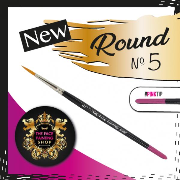 The Face Painting Shop ROUND size 5 Brush