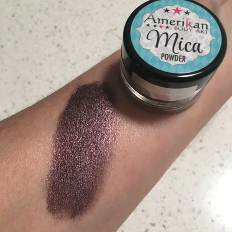 Amerikan Body Art Mica Powder CALIFORNIA RAISON